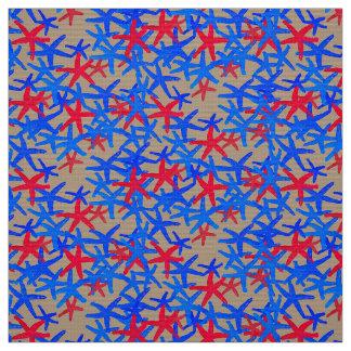 abstracte rode blauwe taupe van de stoffen