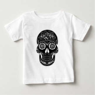 Abstracte Schedel Baby T Shirts
