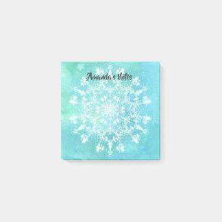 Abstracte Sneeuwvlok Post-it® Notes
