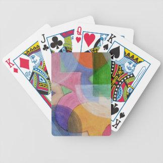 Abstracte Speelkaarten 1 Poker Kaarten