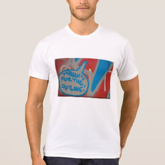 Abstracte trendy dichte omhooggaande kunst van t shirt