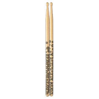 abstracte trommelstokken drumstokkies    0
