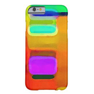 Abstracte uitbarsting van kleur. barely there iPhone 6 hoesje