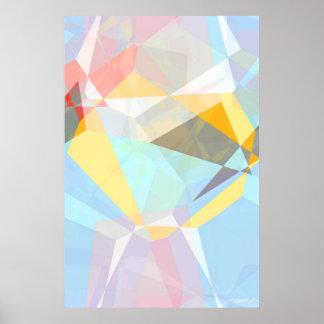 Abstracte Veelhoeken 29 Poster