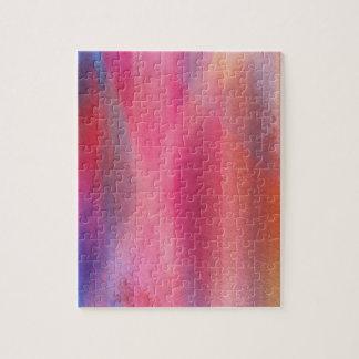 Abstracte verven puzzel