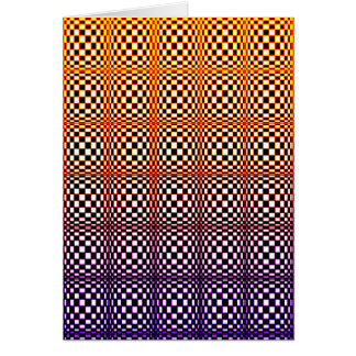 Abstracte Vierkanten 10 (portret) Briefkaarten 0