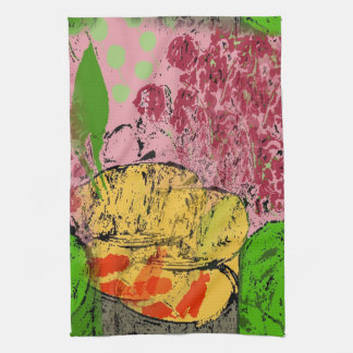 Abstracte Vissen, Hulde aan Matisse Theedoek