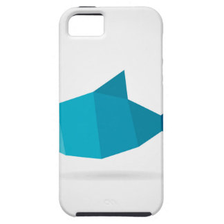 Abstracte vissen tough iPhone 5 hoesje