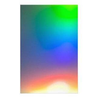 Abstracte zonsondergang briefpapier