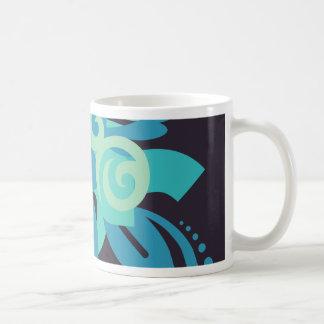 Abstractie Twee Poseidon Koffiemok