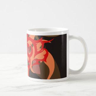 Abstractie Zes Ares Koffiemok