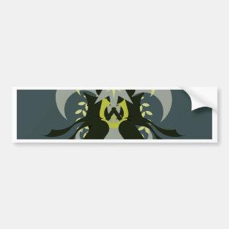 Abstractie Zeven Loki Bumpersticker