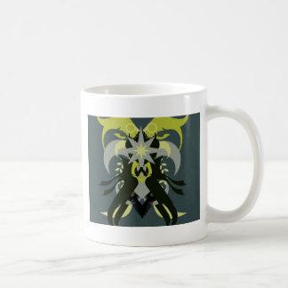 Abstractie Zeven Loki Koffiemok