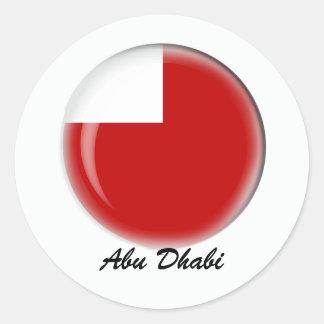 Abu Dhabi Ronde Sticker