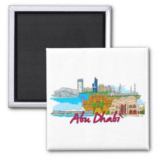 Abu Dhabi - Saudi-Arabië Magneet