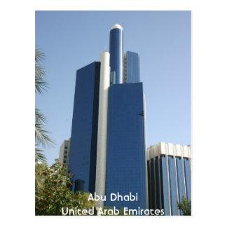 Abu Dhabi Verenigde Arabische Emiraten Briefkaart