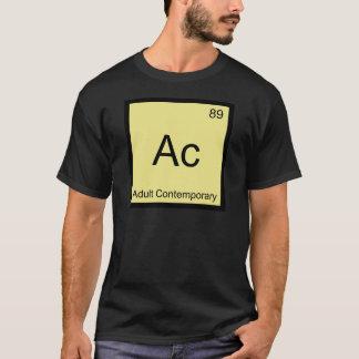 Ac - het Volwassen Eigentijdse Symbool T van het T Shirt