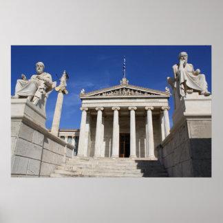 Academie van het Poster van Athene