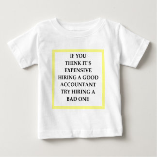 ACCOUNTANT BABY T SHIRTS