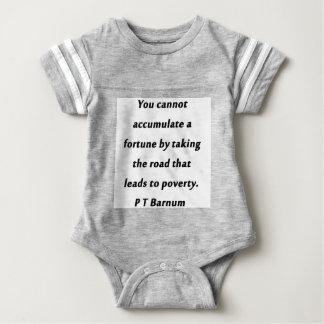 Accumuleer een Fortuin - P T Barnum Baby Bodysuit