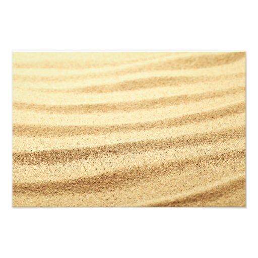 Achtergrond 4 van het zand fotoafdrukken