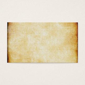 Achtergrond | het Document van het Perkament Visitekaartjes