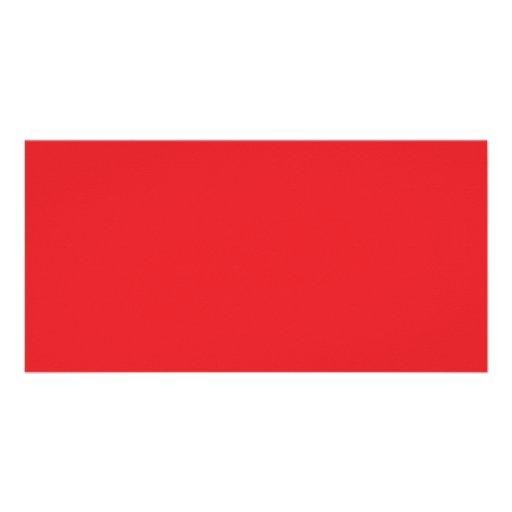 Achtergrond kleur rood persoonlijke fotokaart zazzle - Kleur rood ruimte ...