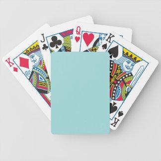 Achtergrond van de Kleur Aqua van de pool de Poker Kaarten