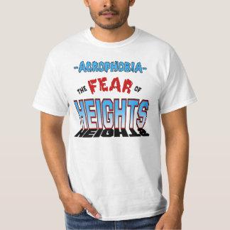 Acrofobie - Hoogtevrees - Hoogten Cambria T Shirt