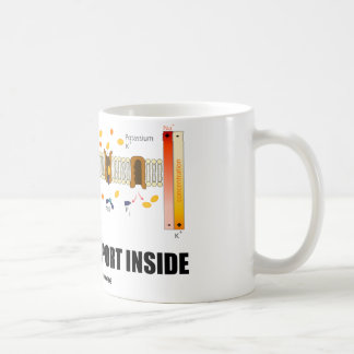 Actieve Vervoer binnen (Sodium-Potassium Pomp) Koffiemok
