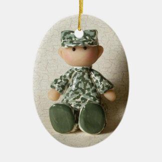 ACU Militair Keramisch Ovaal Ornament