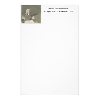 Adam Falckenhagen Briefpapier