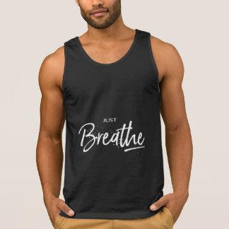 Adem enkel de Koele Zwarte van de Yoga Hemd