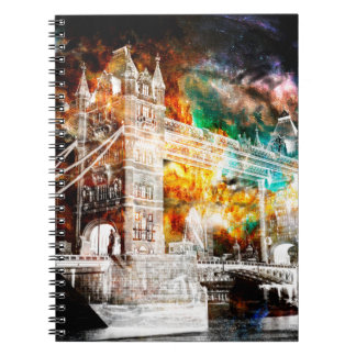 Adem opnieuw de Dromen van Londen Ringband Notitieboek