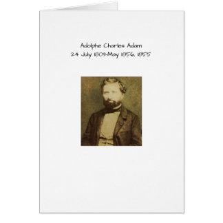 Adolphe Charles Adam, 1855 Briefkaarten 0
