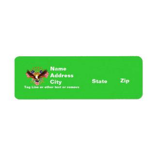 Adres 2 van Rtn Geest is geen Vergeten Amerika Etiket