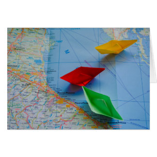 Adriatisch zee wenskaart