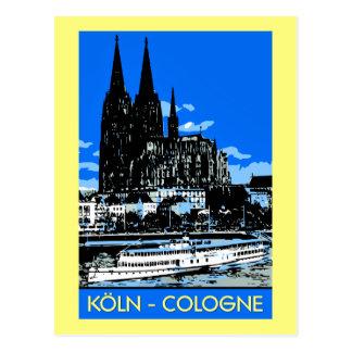 Advertentie van de de stijlreis van Keulen van Briefkaart