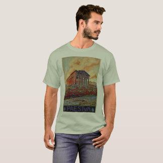 Advertentie van de de tempel Italiaanse reis van T Shirt