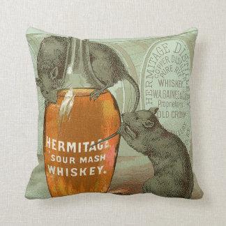 Advertentie van de Whisky van de Brij van de kluis Sierkussen