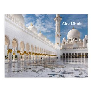 Advertentie van het Toerisme van de Reis van Abu Briefkaart