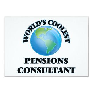 Adviseur van de Pensioenen van de wereld de Persoonlijke Uitnodiging