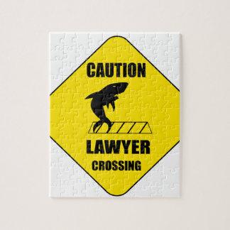 Advocaat die met Haai kruisen Puzzel