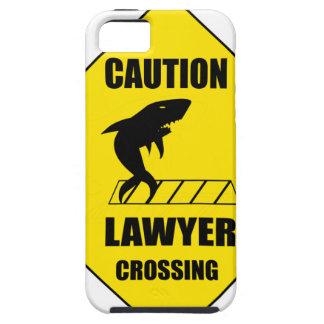 Advocaat die met Haai kruisen Tough iPhone 5 Hoesje