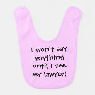 advocaat slab baby slabbetje