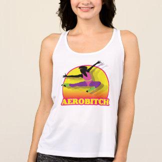 Aerobitch die hoog vliegen tanktop