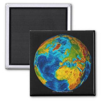 Afbeelding van Aarde 2 Vierkante Magneet