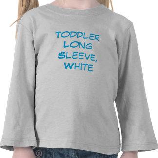 Afbeelding van het Sleeve van de peuter het Lange Tshirt