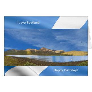 Afbeelding van Schotland voor het wenskaart van de