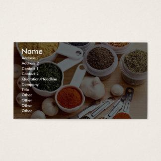 Afbeelding van Verse kruiden met Visitekaartjes